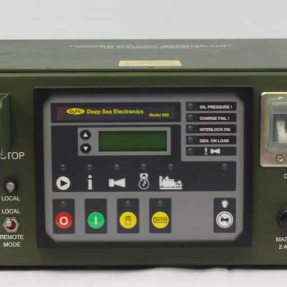 Deep Sea Electronics Front