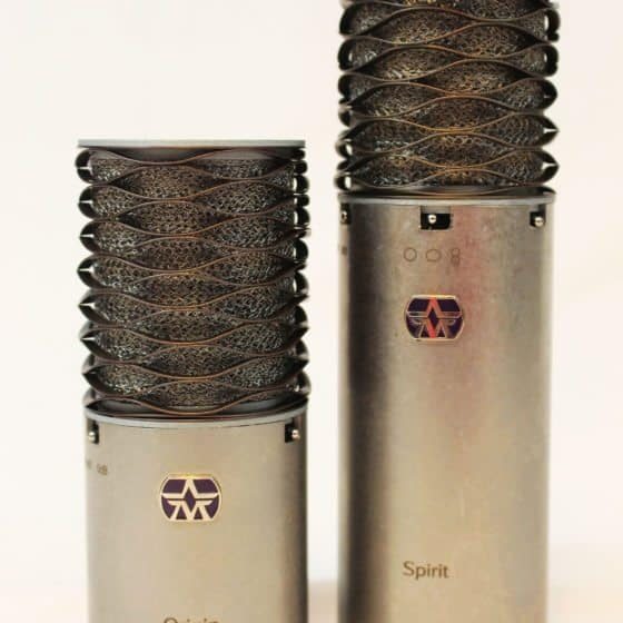 Aston Microphones Front On